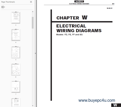 small resolution of the image of hino truck fd fe ff sg chassis body electrical 2002 workshop manual workshop
