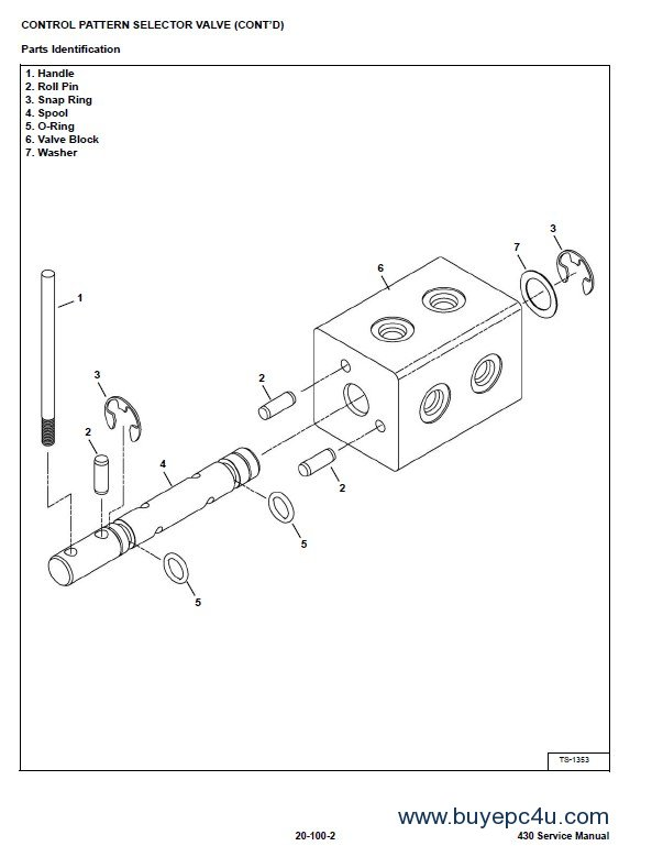 Bobcat 430 Mini Excavators Service Manual PDF