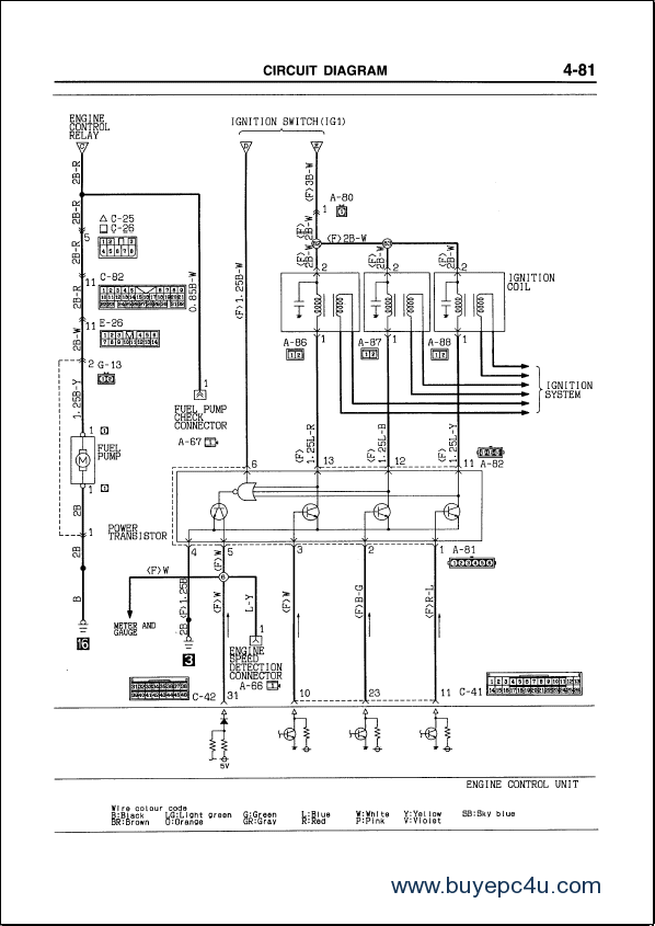 Mitsubishi L200 Central Locking Wiring Diagram : 46 Wiring