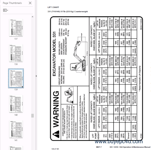 small resolution of  the screenshot of the bobcat workshop repair manual 4