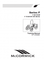 McCormick Landini F Series Tractors Training Manual PDF