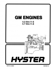Hyster Challenger H135XL H155XL Service+Parts Manual PDF