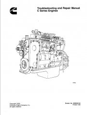 Cummins Engines C Series for Fiat Kobelco PDF Manual