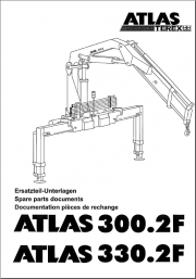Parts catalog for Atlas and Terex cranes in PDF Format