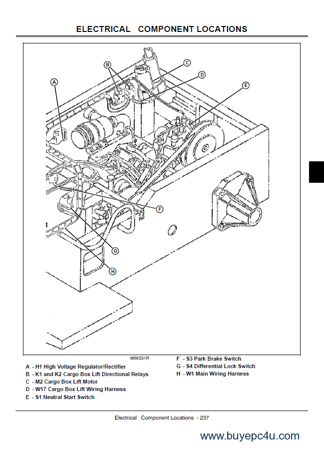 john deere gator utility vehicles 4x2 and 4x6 technical manual tm1518 pdf?resize\\\=649%2C911\\\&ssl\\\=1 diagrams 600468 john deere rectifier wiring diagram rectifier john deere 737 wiring diagram at soozxer.org