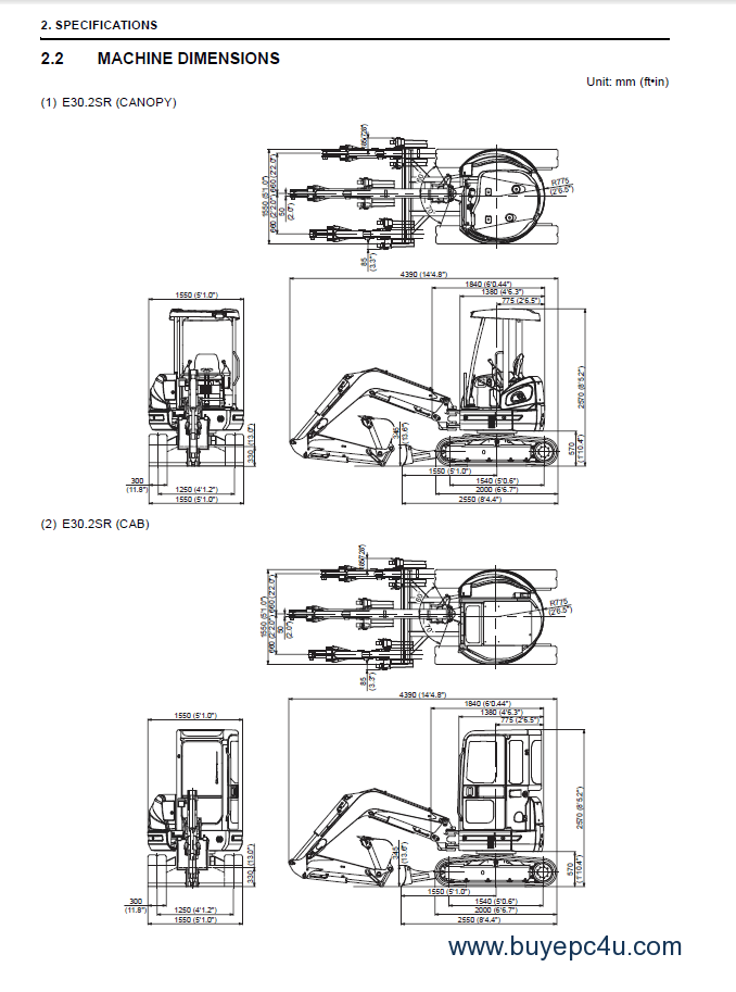 Download Fiat Kobelco E30.2/35.2SR Excavators Workshop