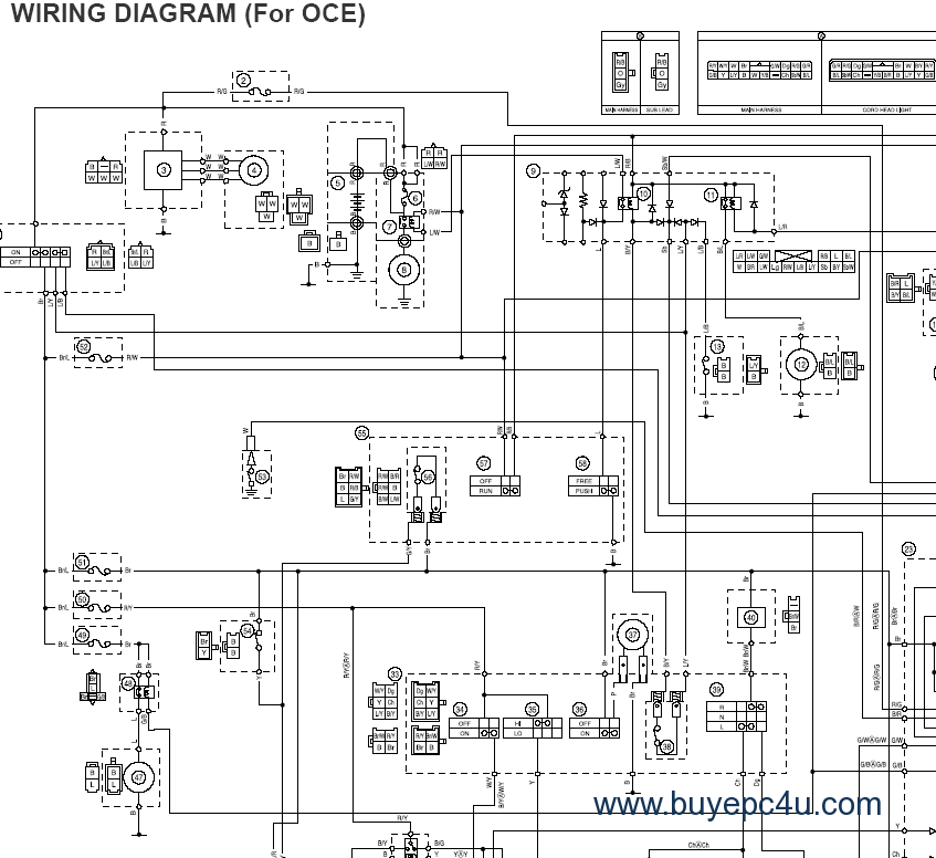derbi senda 50 wiring diagram fuse block yamaha aerox motorcycle diagrams drawings ...