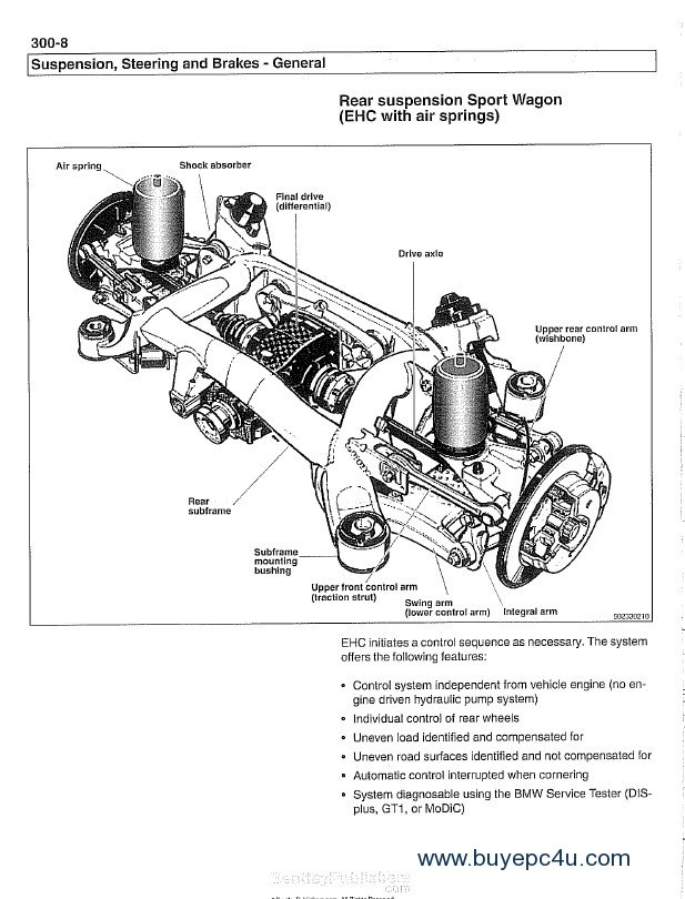 BMW 5 Series (E39) Service Manual PDF