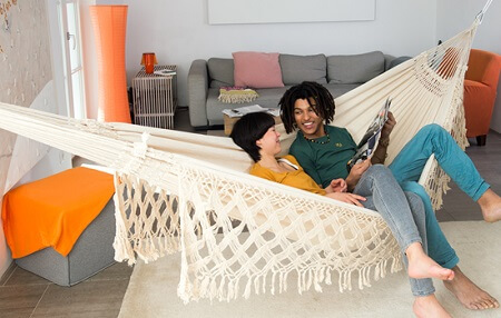 Ideas to hang hammock supports 6