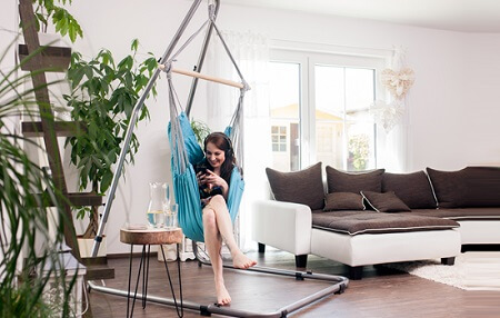 Ideas to hang hammock supports 9