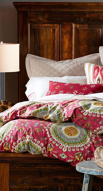 Della Earth Tone Bedding