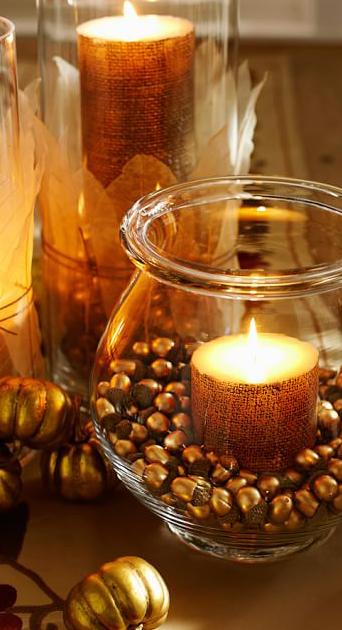 Acorn Vase Filler