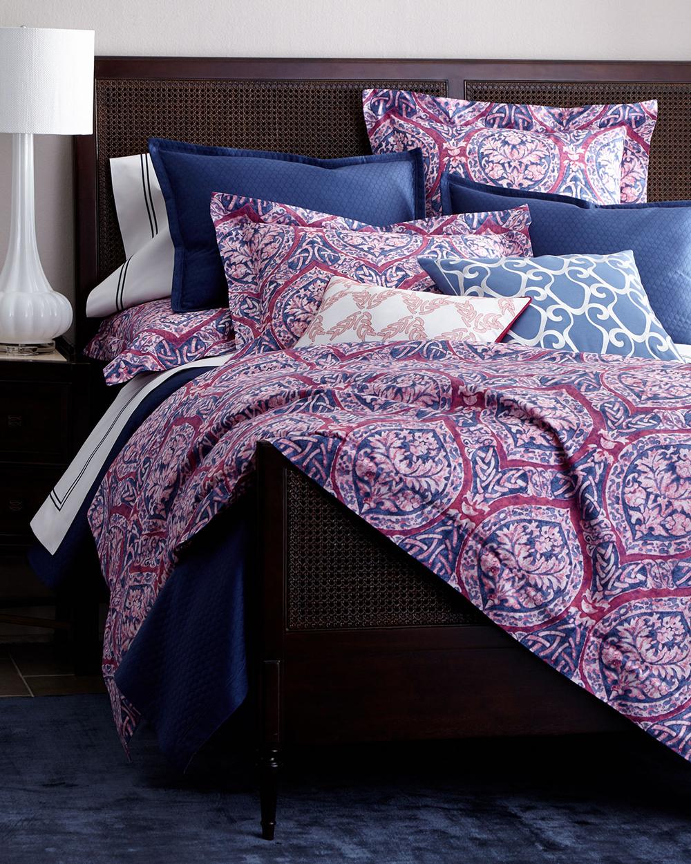 Sferra Luxury Bedding Celtic Flowers