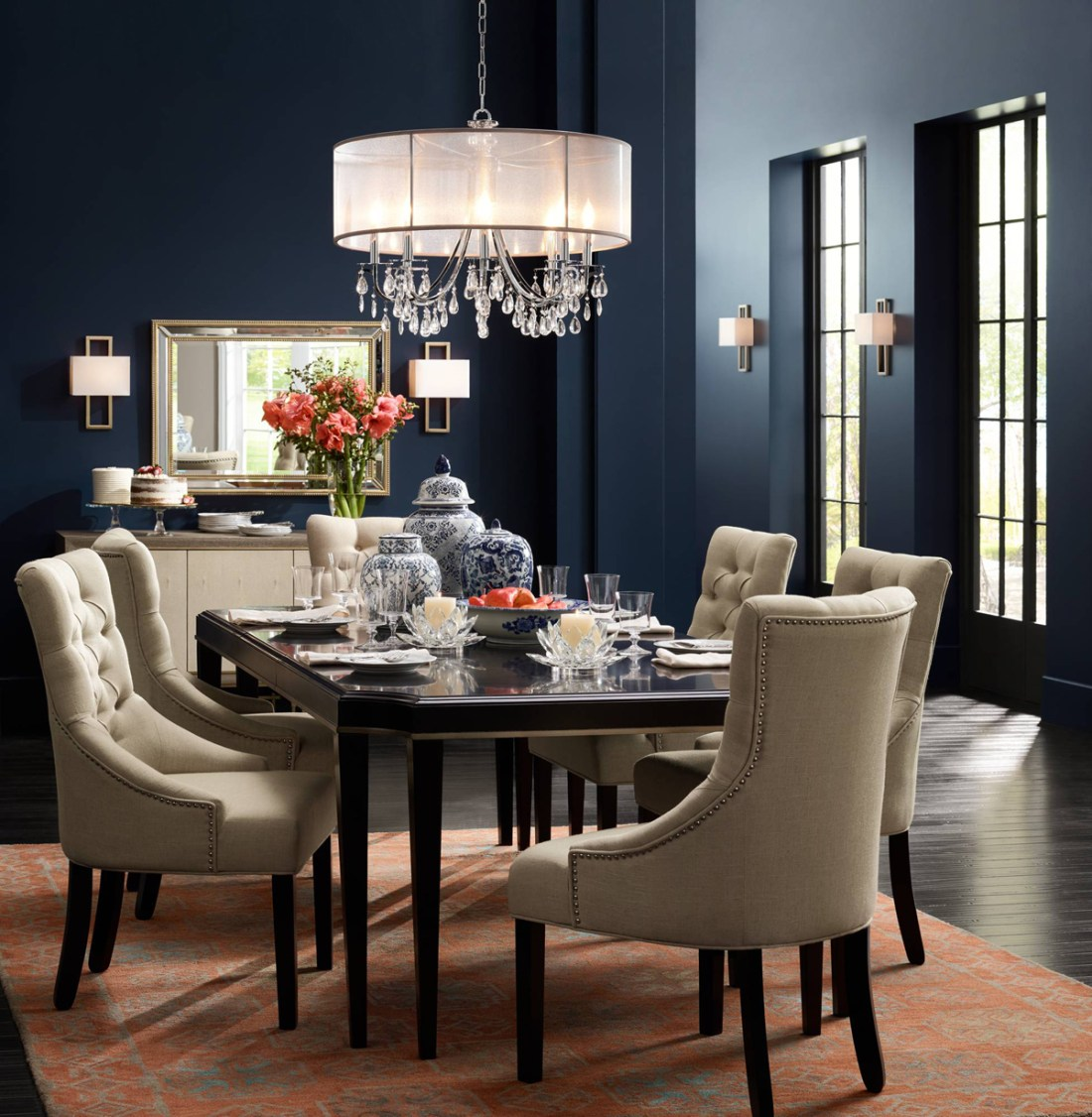 Dining Room Chandeliers Traditional: Beautiful Rooms, Stunning Interiors & Fabulous Home Decor