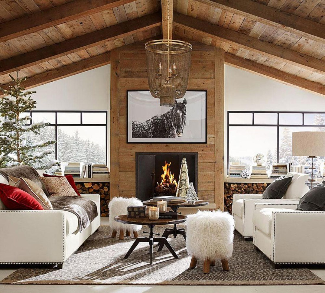 Rustic Living Rooms: Modern Rustic Decorating Ideas
