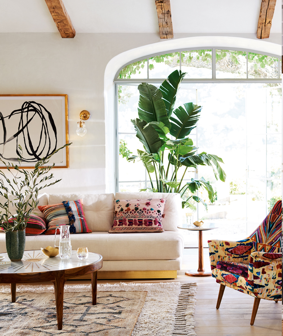 Bohemian style decorating design tips where to buy - Boho chic deco ...