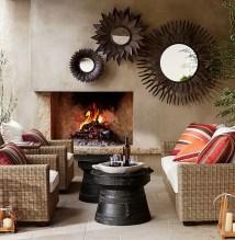 Eclectic Outdoor Area Patios Porches & Decks