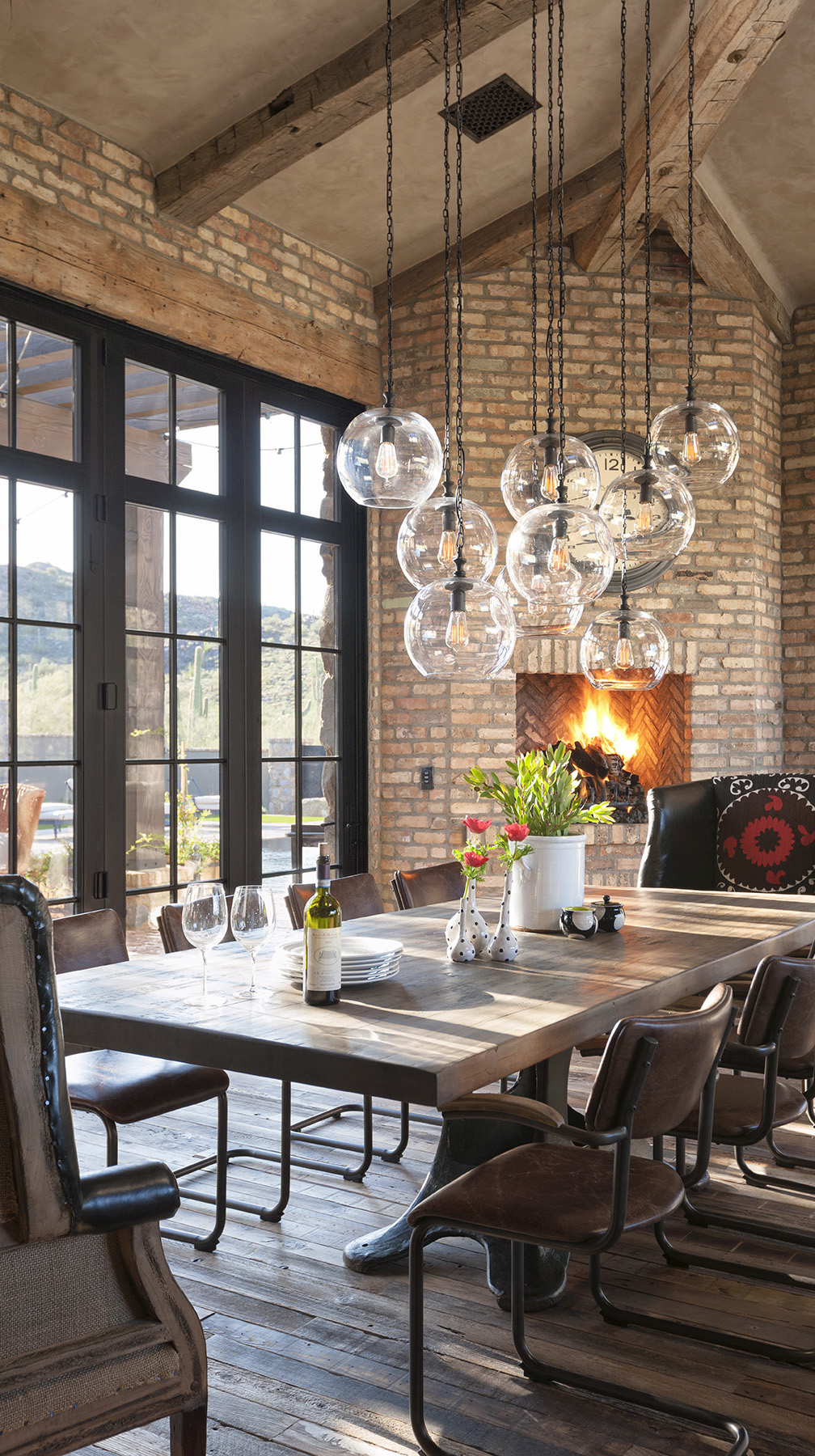 Eclectic Dining Room Ideas Part - 35: Rustic Eclectic Dining Room