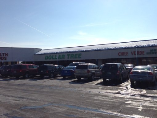 See the Health Food shop to the left of Dollar Tree.