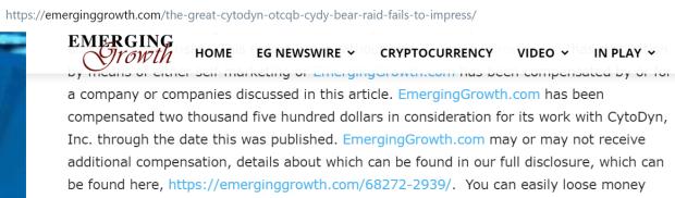 EmergingGrowthCYDYDisclosure1