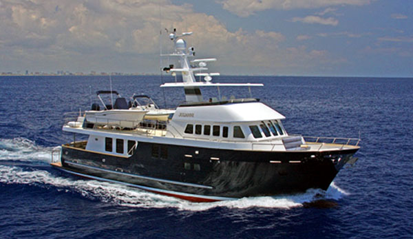 Expedition Yacht 80 Northern Marine Julianne Sold
