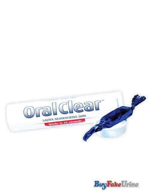 Image of a product - Oral Clear saliva neutralizing detox gum
