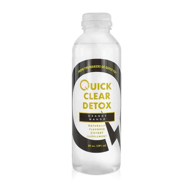 Quick Clear Detox Bottle by Spectrum Labs