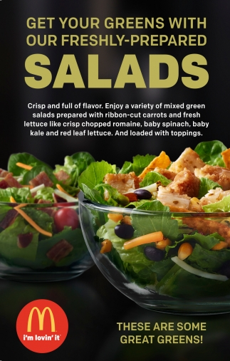 salads mcdonald s ga