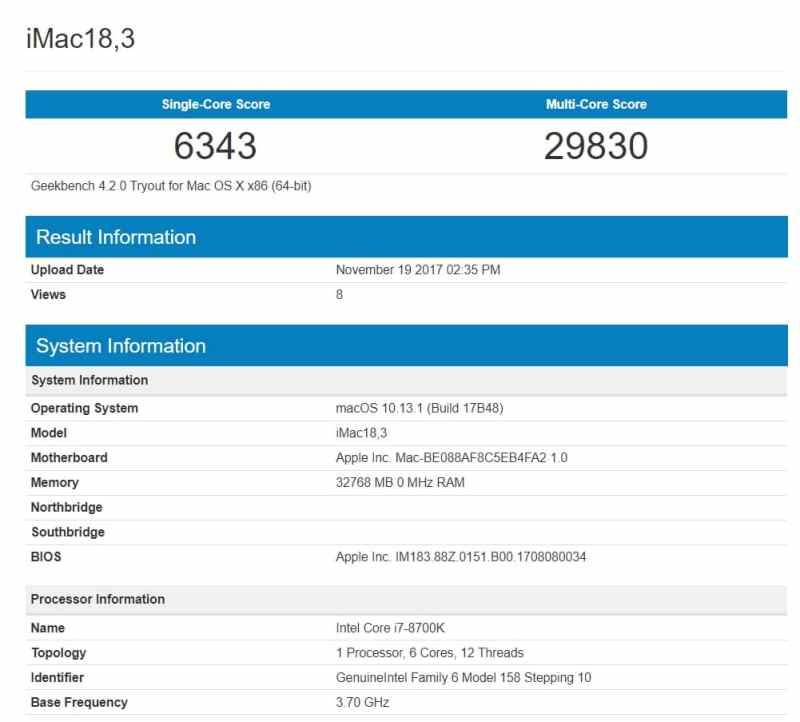 iMac-27-8700-1 Geekbench Apple may Refresh the iMacs 2