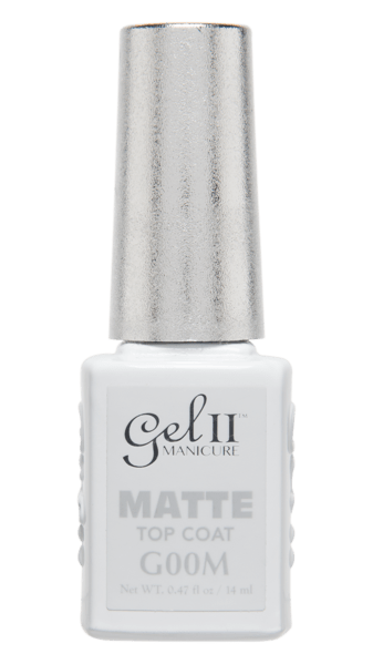 Gel II No Cleanse Matte Top Coat
