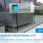 Buy Balustrade Kits - Toughened Glass & Laminate Glass