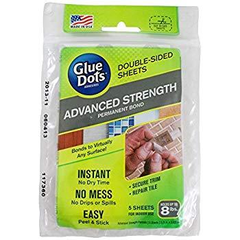 advanced strength glue dots