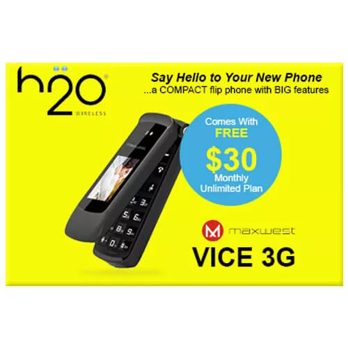 image of H2O MaxWest Vice 3G Bundle