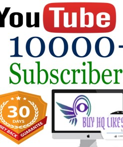 10000 YouTube Subscribers