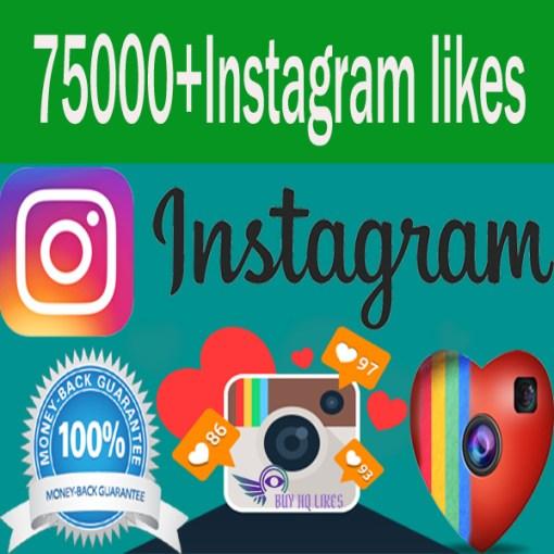 Buy 75 Instagram Likes