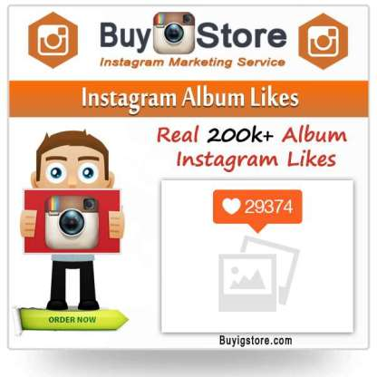 Instagram Album Likes