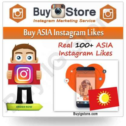 Buy ASIA Instagram Likes