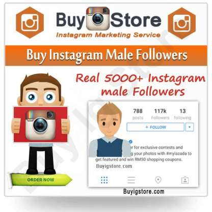 Buy Instagram Male Followers