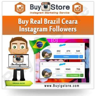 Buy Brazil Ceara Instagram Followers