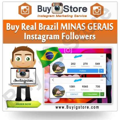 Buy Brazil MINAS GERAIS Instagram Followers