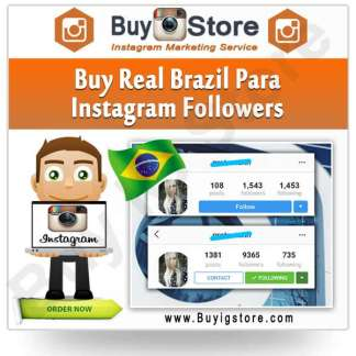 Buy Brazil Para Instagram Followers