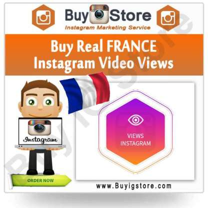 Buy FRANCE Instagram Video Views
