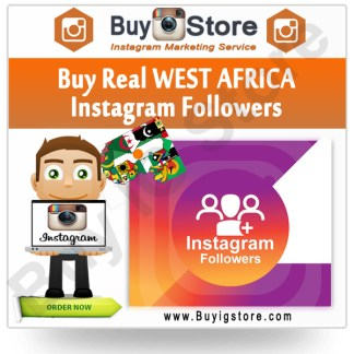 Buy WEST AFRICA Instagram Followers