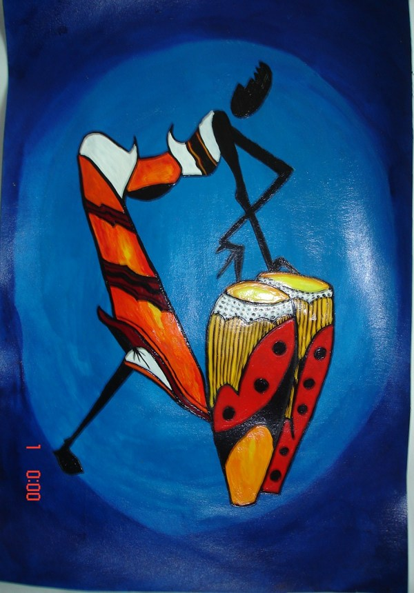 African Art Paintings On Canvas