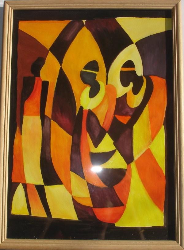 Acrylic Painting Sri Viswakala Kendra