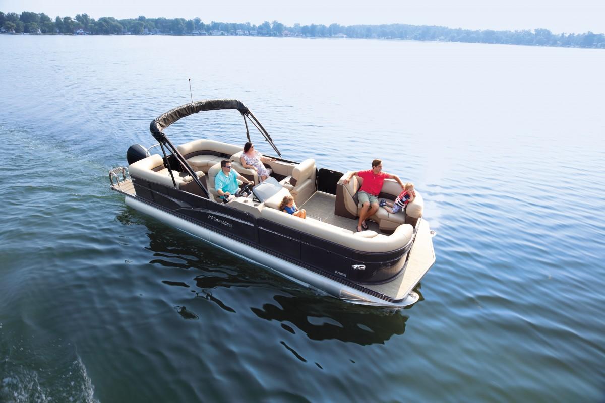Family pontoon boat