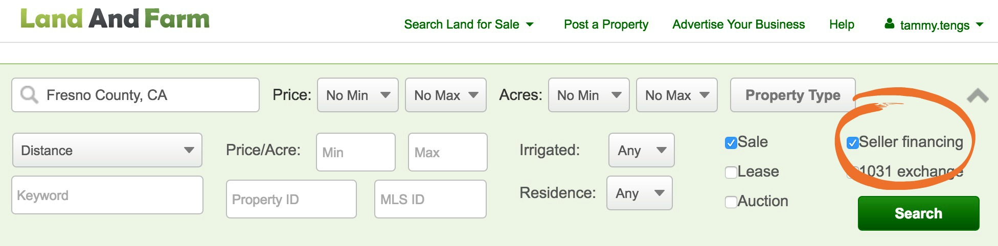 A Search Of Landandfarm On Fresno County California, For Example, Yielded  19 Ownerfinanced Parcels For Sale