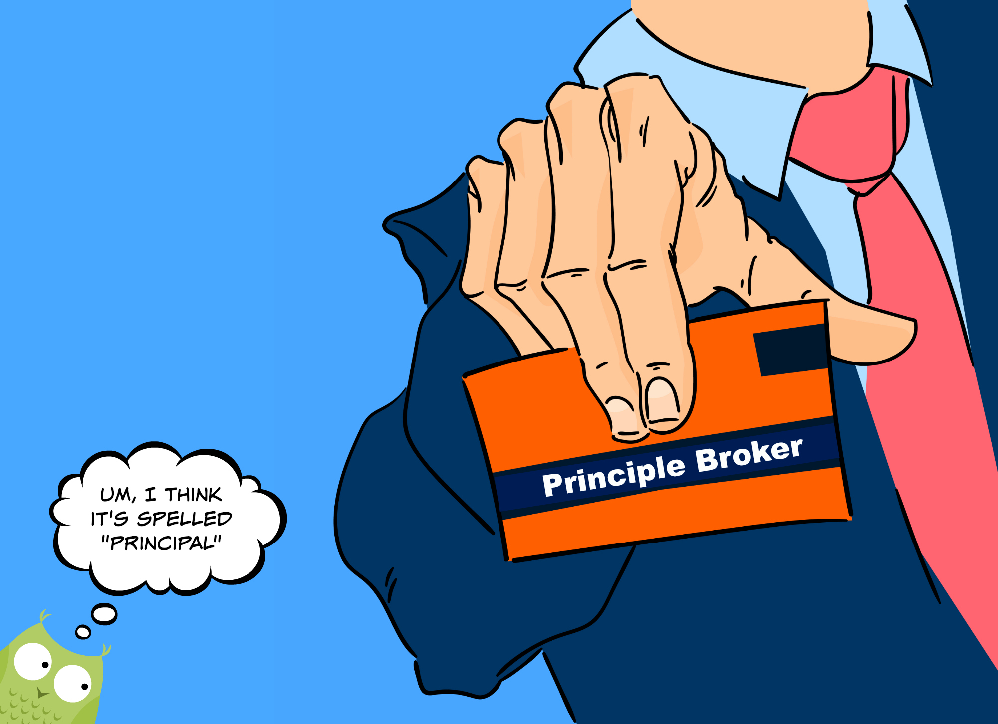 Principal Broker Misspelled