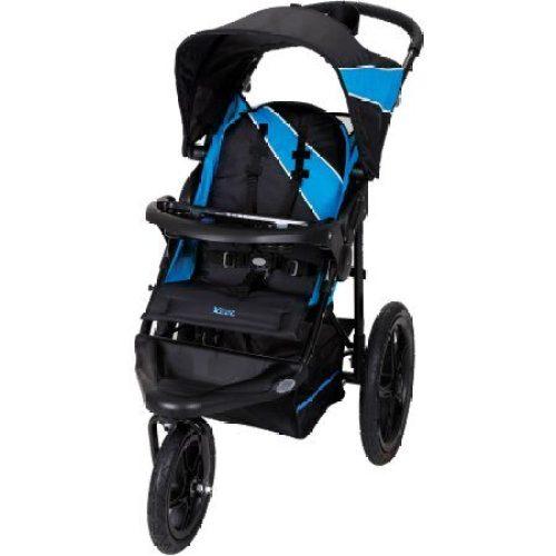Baby Trend Xcel Jogger Stroller, Mosaic Blue - Jogging Strollers