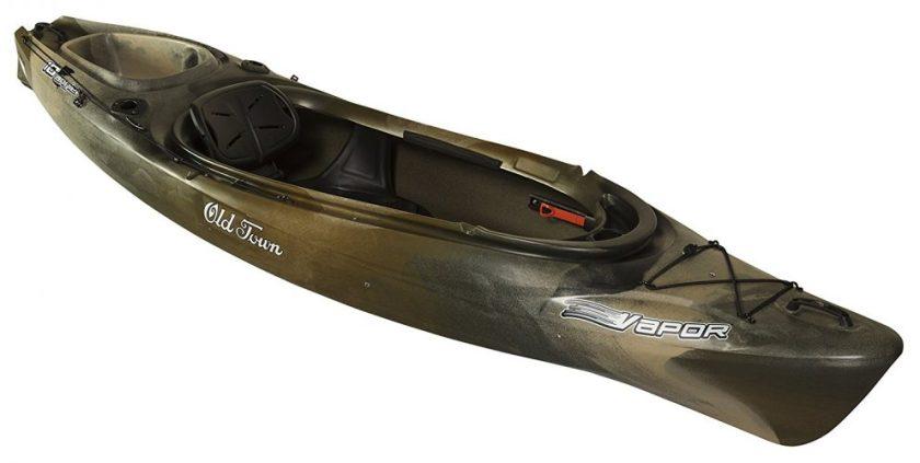 The Old Town Vapor 10 Angler Kayak - fishing kayaks
